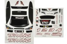 TRAXXAS запчасти Decal sheet, 1/16 Rally