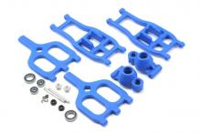 RPM True-Track Rear A-Arm Conversion, Blue:TMX 3.3/EMX