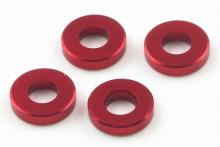 KYOSHO запчасти Aluminum Color (3x6.5x1.5mm:Red:4pcs)
