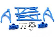 RPM True-Track Rear A-Arm Conversion, Blue: Revo