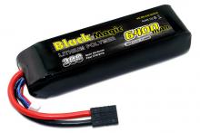 Black Magic 11.1V 6400mAh 30C LiPo TRX plug