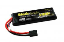Black Magic 7.4V 3300mAh 30C LiPo TRX plug