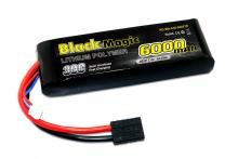 Black Magic 7.4V 6000mAh 30C LiPo Softcase TRX plug