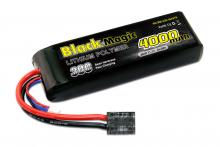 Black Magic 11.1V 4000mAh 30C LiPo Softcase TRX plug