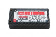 Team Orion Batteries 7.4V 4500mAh 100C LiPo Hardcase Tubes plug