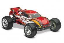 TRAXXAS Rustler 2WD 1/10 RTR + NEW Fast Charger
