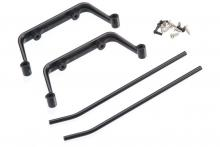 TRAXXAS запчасти Landing skid set (black-anodized): screws (4) (assembled)