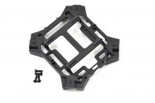 TRAXXAS запчасти Main frame, lower (black) : 1.6x5mm BCS (self-tapping) (4)