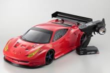 KYOSHO : 1/8 EP 4WD Inferno GT2 VE RS Ferrari 458 RTR