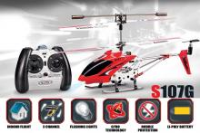 SYMA S107 3CH I:R helicopter with GYRO