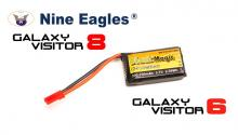 Black Magic 3.7V 700mAh 30C LiPo JST-BEC plug (Galaxy Visitor 8)