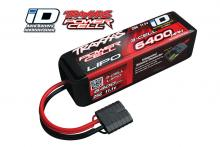 TRAXXAS запчасти 6400mAh 11.1v 3-Cell 25C LiPO Battery (iD Plug)