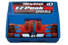 TRAXXAS запчасти EZ-Peak Plus 4-amp NiMH/LiPo Fast Charger with iD™ Auto Battery Identification (Dual Output)