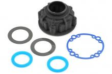 TRAXXAS запчасти Carrier, differential/ x-ring gaskets (2)/ ring gear gasket/ 6x10x0.5 TW