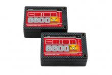 Team Orion Batteries 7.6V 6600mAh 110C LiPo saddle pack Carbon Pro Tubes plug