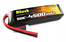 Black Magic 14.8V 4500mAh 50C LiPo Deans plug