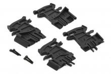 TRAXXAS запчасти Battery hold-down mounts, left (2): right (2): 3x18mm CS (4)