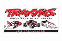 TRAXXAS запчасти Traxxas racing banner, red & black (4x8 feet)