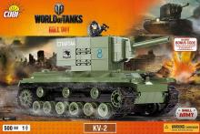 COBI Танк КВ-2 серия World of Tanks