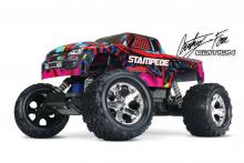TRAXXAS Stampede 1/10 COURTNEY FORCE EDITION 2WD Brushed TQ