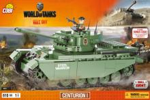 COBI Танк Centurion I (Центурион 1) серия World of Tanks