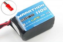 Team Orion Batteries Marathon Life Hump RX Pack Team Orion LiFe 6,6В(2s) 1100mAh Soft Case BEC:JST