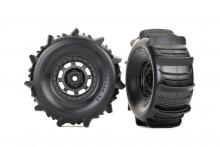 TRAXXAS запчасти TIRES AND WHEELS, ASSEMBLED,