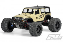 Proline Jeep Wrangler Unlimited Rubicon (T/E-MAXX 3.3, REVO 3.3, Savage, Summit)