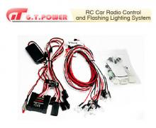 G.T. Power RC Car Radio Control and Flashing Lighting System