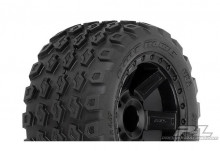 "Proline Desperado Black Wheels + Dirt Hawg 2.8"" All Terrain Tires"