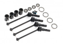 TRAXXAS запчасти  Driveshafts, steel constant-velocity (assembled), front or rear (4) (#8654, 8654G, or 8654R and #7758, 7758G, or 7758R required for a complete set)