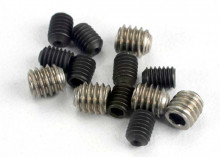 TRAXXAS запчасти Set (grub) screws, 3x4mm (8): 4x4mm (stainless) (4)