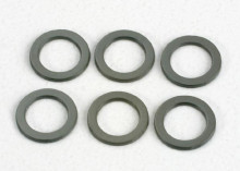 TRAXXAS запчасти Washers, PTFE-coated 4x6x.5mm
