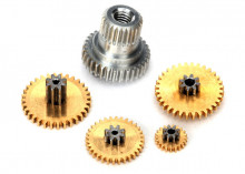 TRAXXAS запчасти Gear set, metal (for 2065X waterproof sub-micro servo)