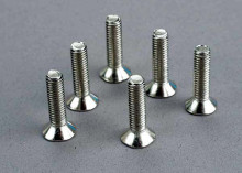TRAXXAS запчасти Screws, 5x20mm countersunk machine (6)