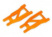 TRAXXAS запчасти Suspension arms, orange, front:rear (left & right) (2) (heavy duty, cold weather material)
