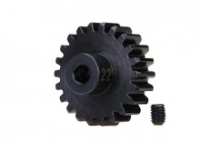 TRAXXAS запчасти Gear, 22-T pinion (32-p), heavy duty (machined, hardened steel): set screw