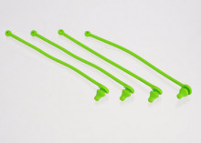 TRAXXAS запчасти Body clip retainer, green (4)
