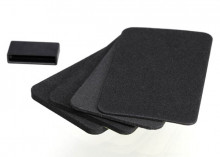 TRAXXAS запчасти Spacers (4): grip pads (3):connector dust cover (1) (for TQi docking base)