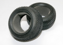 TRAXXAS запчасти Tires, Response Pro 2.2' (soft-compound, narrow profile, short knobby design): foam inserts (2)