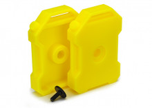 TRAXXAS запчасти Fuel canisters (yellow) (2): 3x8 FCS (1)
