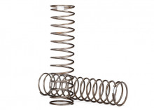 TRAXXAS запчасти Springs, shock (natural finish) (GTS) (0.30 rate, white stripe) (2)