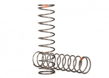 TRAXXAS запчасти Springs, shock (natural finish) (GTS) (0.39 rate, orange stripe) (2)