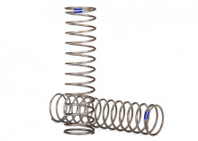 TRAXXAS запчасти Springs, shock (natural finish) (GTS) (0.61 rate, blue stripe) (2)