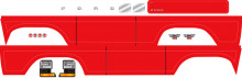 TRAXXAS запчасти Decal sheet, Bronco, red