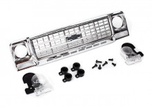 TRAXXAS запчасти Grille, Chevrolet Blazer (1979): grille retainers (4): headlight housing (2): lens (2): 2.6x8 BCS (4