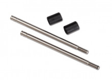 TRAXXAS запчасти Shock shaft, 3x57mm (GTS) (2) (includes bump stops) (for use with TRX-4® Long Arm Lift Kit)