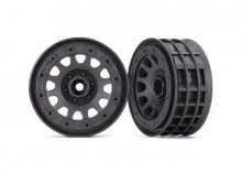 "TRAXXAS запчасти Wheels, Method 105 2.2"" (charcoal gray, beadlock) (beadlock rings sold separately)"