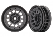 "TRAXXAS запчасти Wheels, Method 105 1.9"" (charcoal gray, beadlock) (beadlock rings sold separately)"