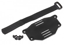 TRAXXAS запчасти Battery plate: battery strap: 3x8 flat-head screws (4) (requires #8072 inner fenders)